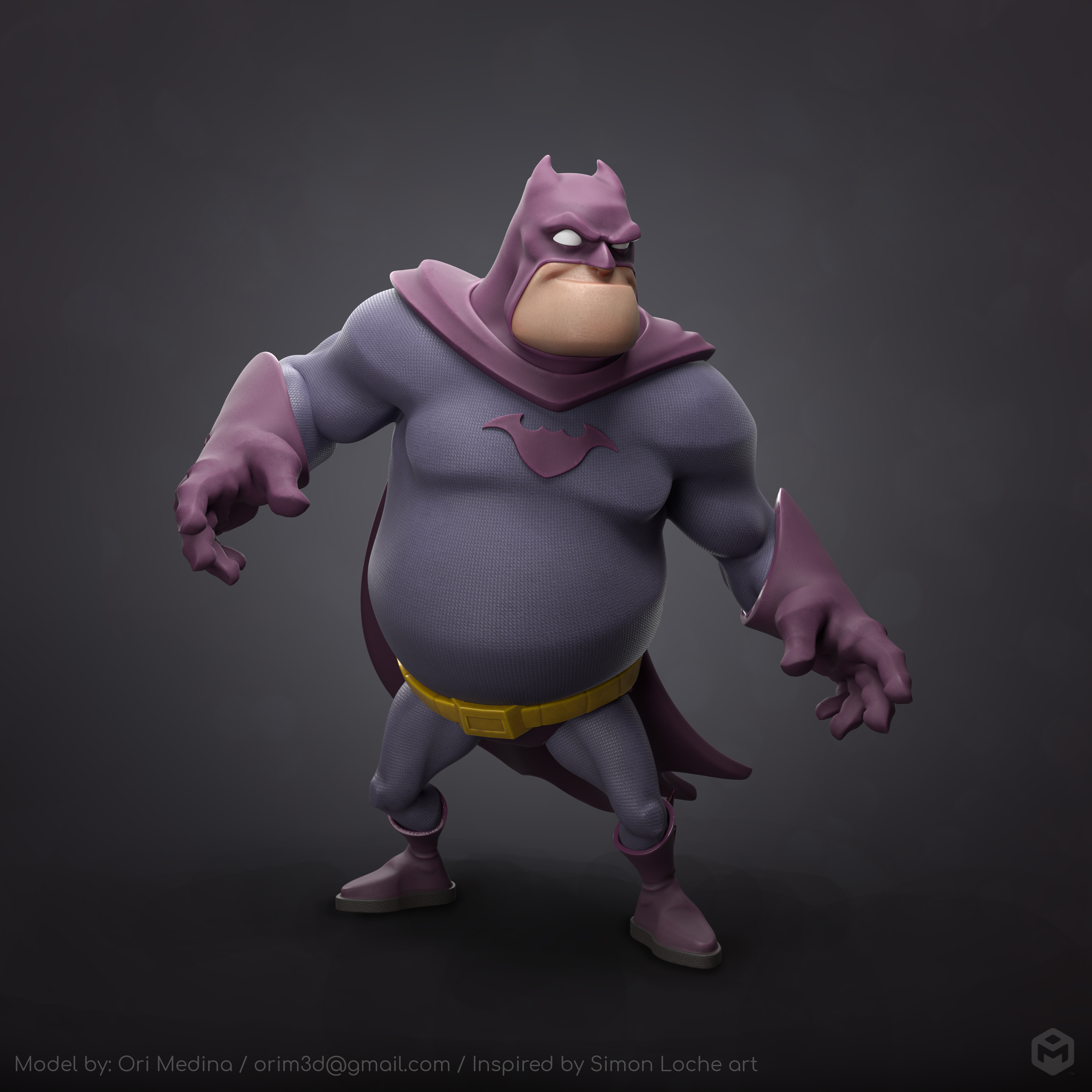蝙蝠侠:胖而致命
