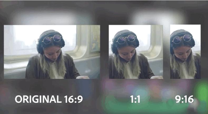 Adobe Premiere pro 2020新功能:AI自动重新构图