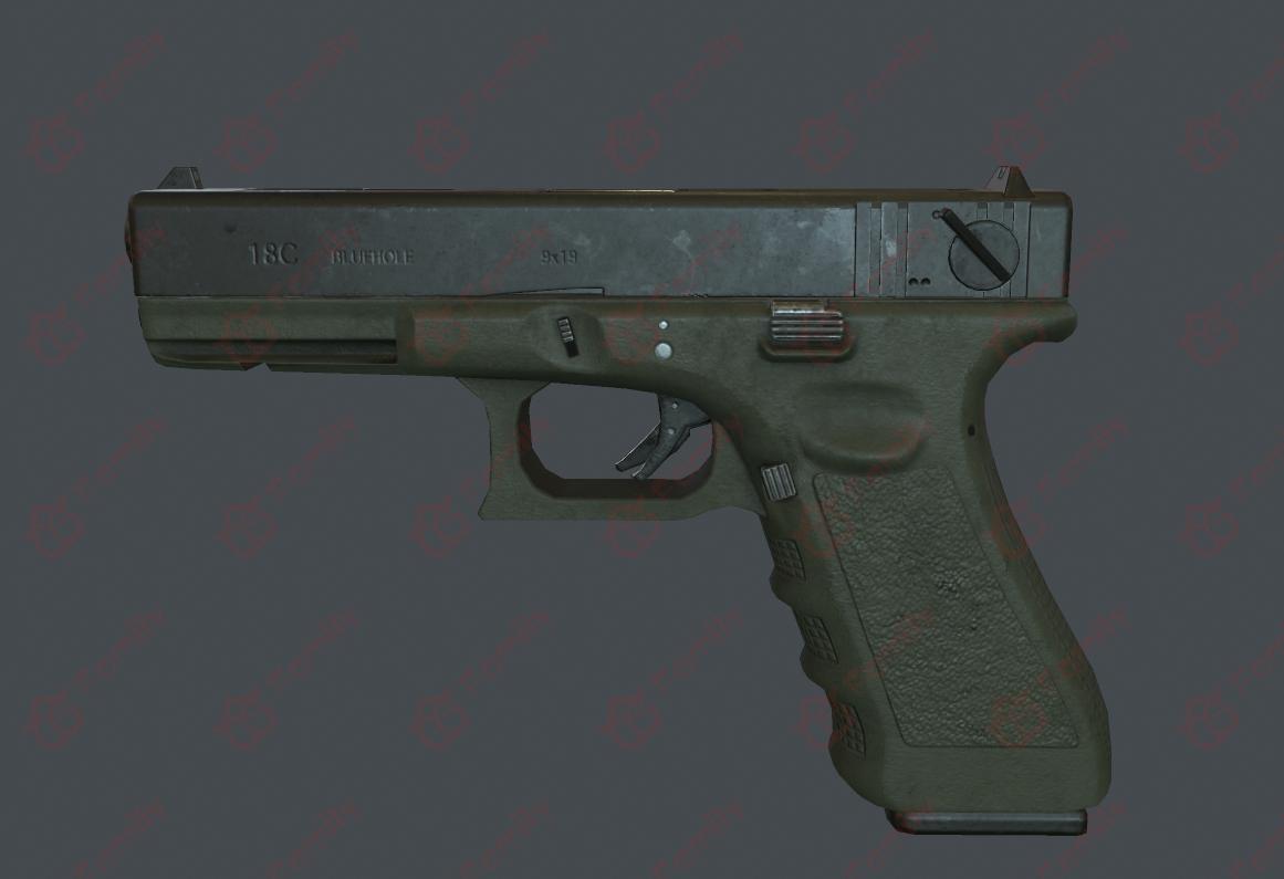 全自动手枪Glock 18C_警用手枪