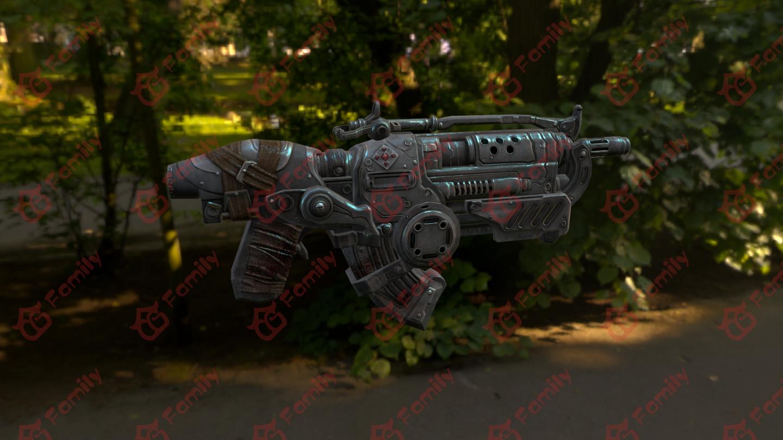 科幻枪械3d模型下载