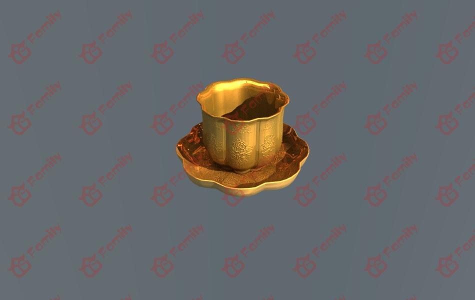 古代金属器具3d模型下载