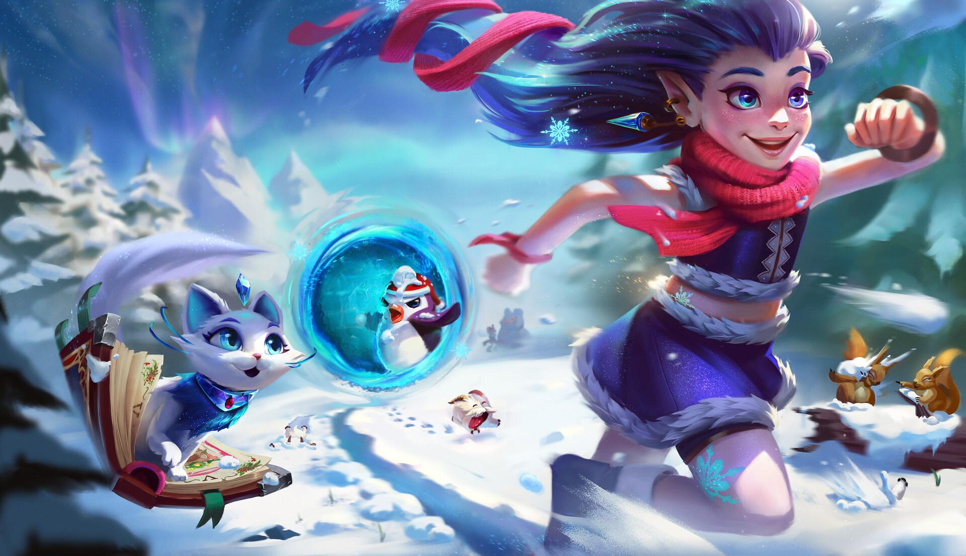 Winter Wonder Zoe and Yuumi