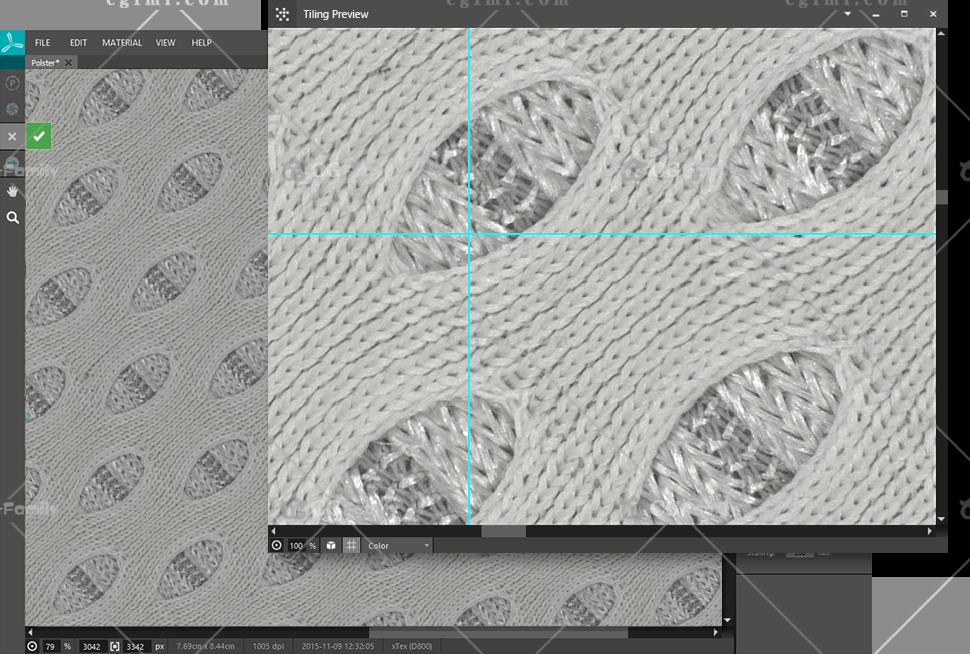 xTex中的无缝平铺纹理