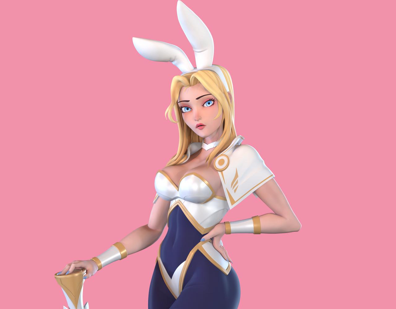 粉丝art lux Battle Bunny
