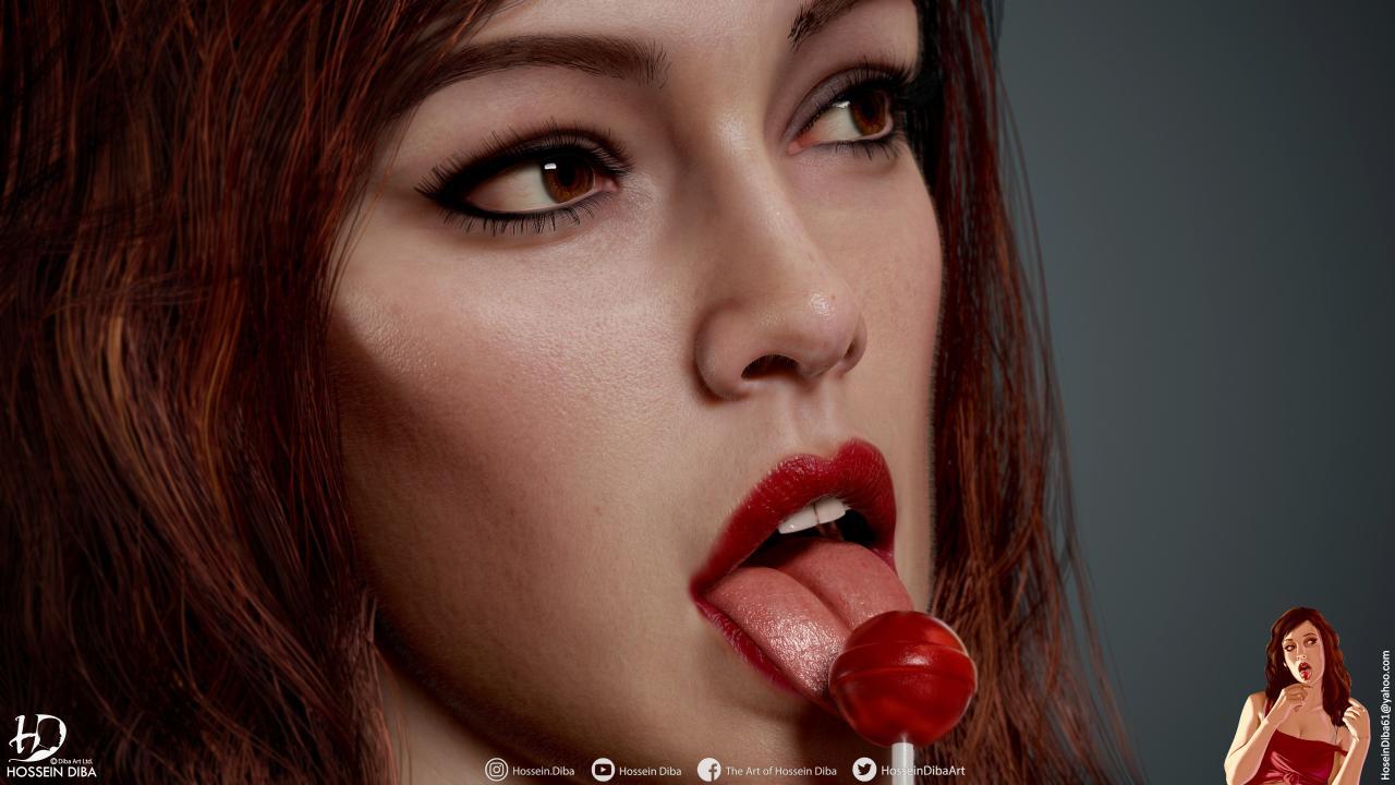 GTA IV Cover Girl的3D模型(实时)