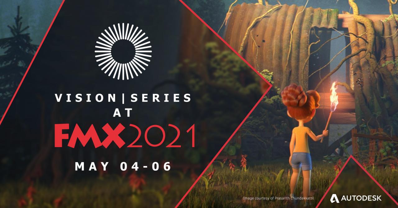 Autodesk将在FMX2021探索VFX和动画的未来