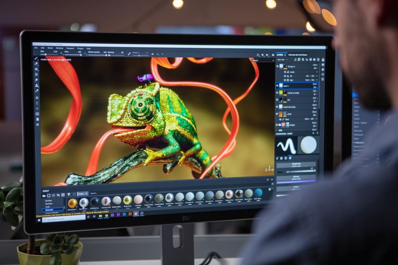 次世代游戏贴图绘制软件 Substance Painter 2021 v7.1.1 Win/Mac 中文版/英文版/破解版