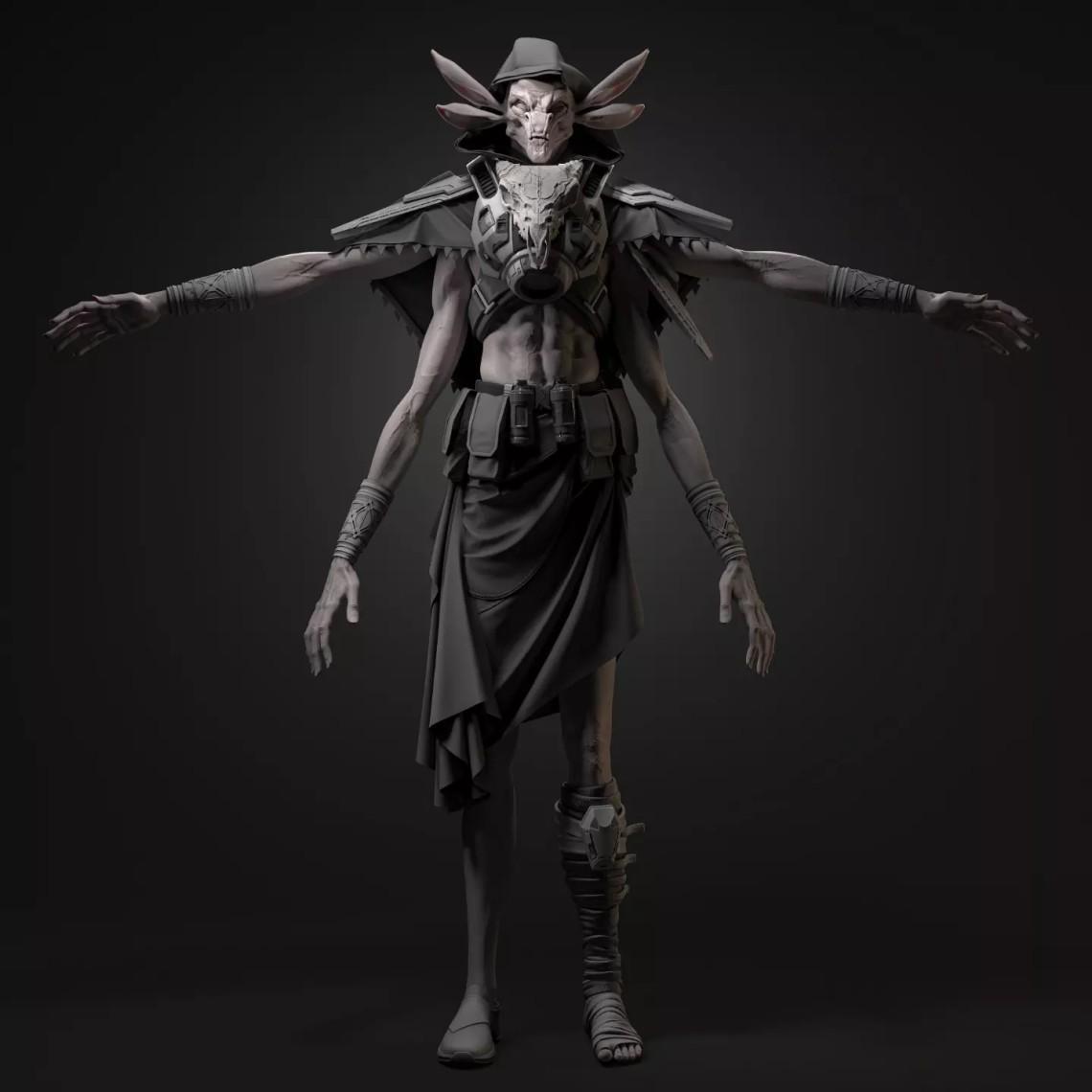 乌克兰3D艺术家Roman Kupriyan 作品欣赏