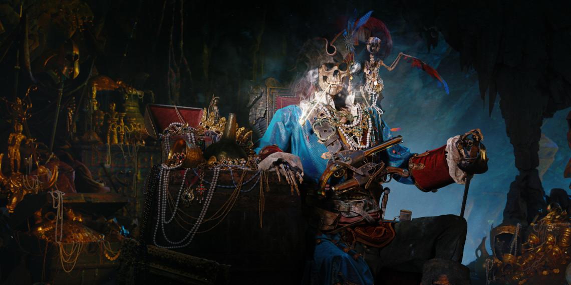 海盗骷髅作品   设计师:Nikolay Kvartnikov